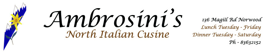 Ambrosini's Restaurant